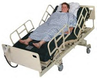 How many beds does a large hospital have? On average,? | ChaCha